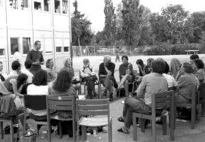 Paulo Freire in Muc 94 Asyl-Unterkunft